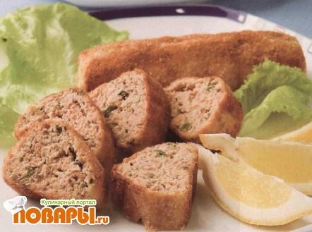 Рецепт Рыбные колбаски