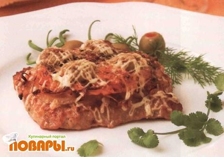 Рецепт Свинина с корейской морковью
