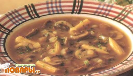 Рецепт Говяжий суп с кукурузой