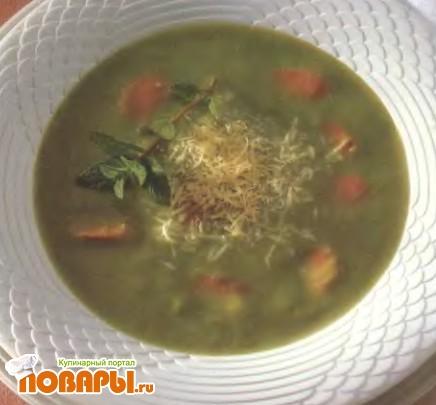 Рецепт Двойной гороховый суп