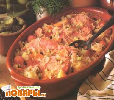 Рецепт Солянка из свинины