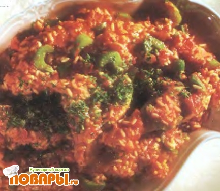 Рецепт Джамбалайя из курицы