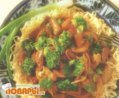 Рецепт Жаркое из утки с китайской лапшой