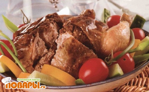 Рецепт Курица пикантная