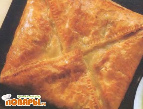 Рецепт Пирог с копченой пикшей