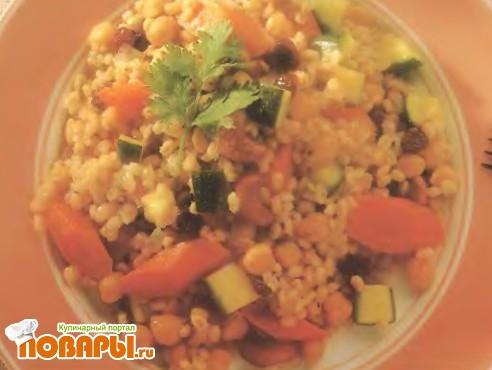 Рецепт Овощной плов с нутом
