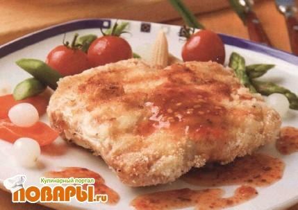 Рецепт Цыпленок, жаренный на решетке