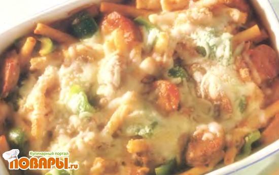 Рецепт Пепперони под неаполитанским соусом