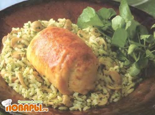 Рецепт Попьетты из курицы