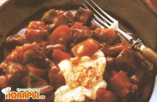 Рецепт Гуляш из говядины