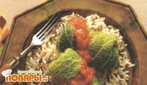 Рецепт Голубцы из савойской капусты