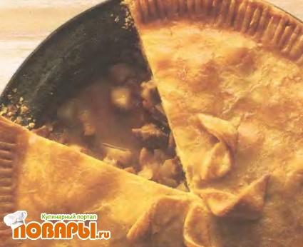 Рецепт Пирог со свининой и яблоками