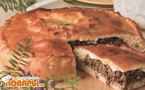 Рецепт Пирог с ливером