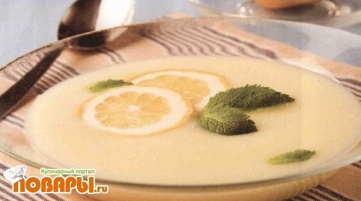 Рецепт Суп лимонный холодный