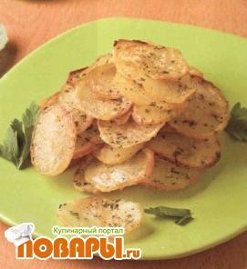 Рецепт Картофель жареный из вареного