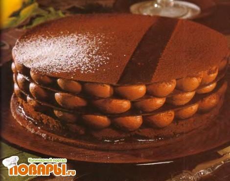Рецепт Шоколадный наполеон по моему рецепту