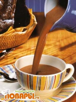 Рецепт Ароматный горячий шоколад