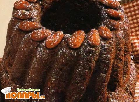 Рецепт Шоколадный кекс с пряным изюмом