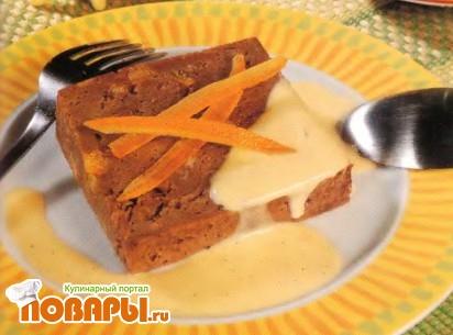 """Рецепт """"Дипломат"""" с шоколадом и апельсиновыми цукатами"""