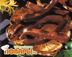 Рецепт Апельсиновые цукаты в шоколаде