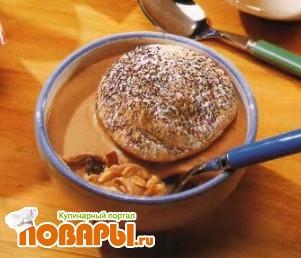 Рецепт Десерт со злаками и шоколадом