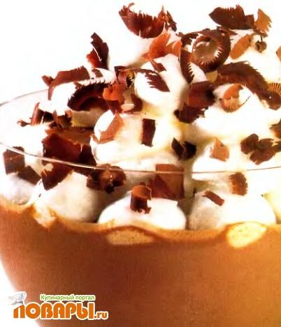 """Рецепт """"Снежки"""" в английском шоколадном креме"""