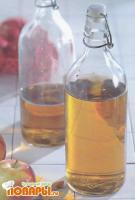 Домашний яблочный уксус с изюмом и медом