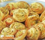 Спиральки с сыром
