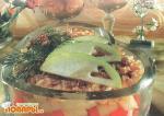 Слоеный салат с яблоками