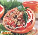 Салат из грейпфрутов