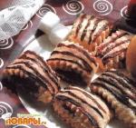 Рулетное печенье с повидлом
