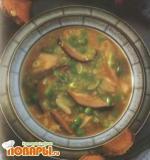 Крабовый суп с китайскими грибами