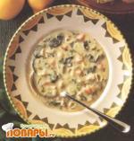 Суп с бараниной и лимоном