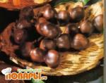 Три орешка в шоколаде