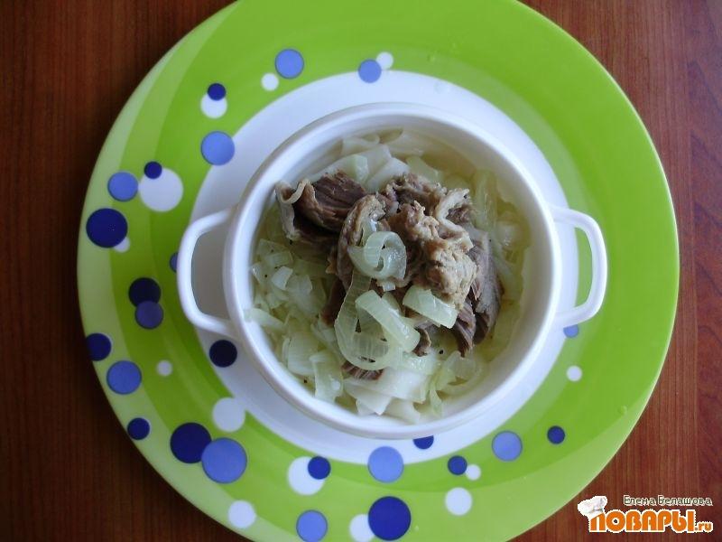 Рецепт Мясо по -казахски в русском исполнении