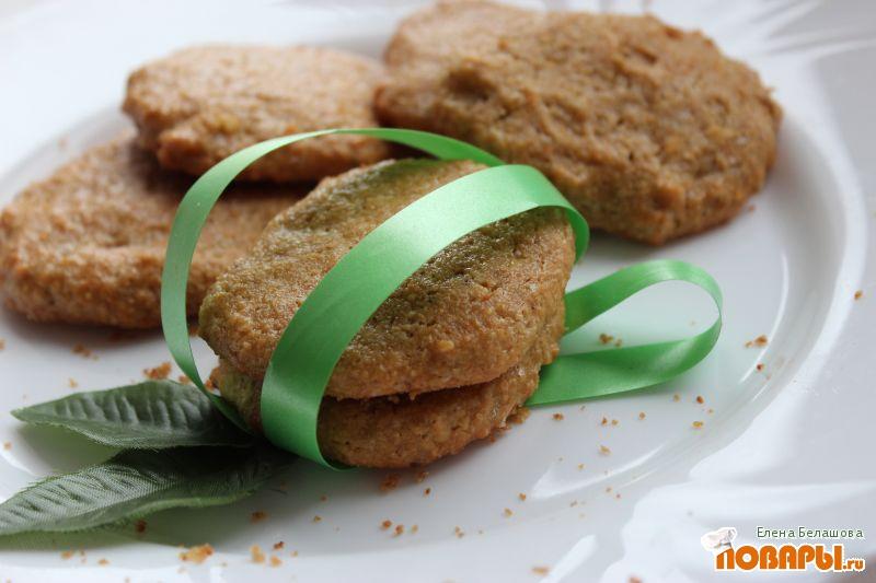 Рецепт Печенье с соевой мукой и окарой