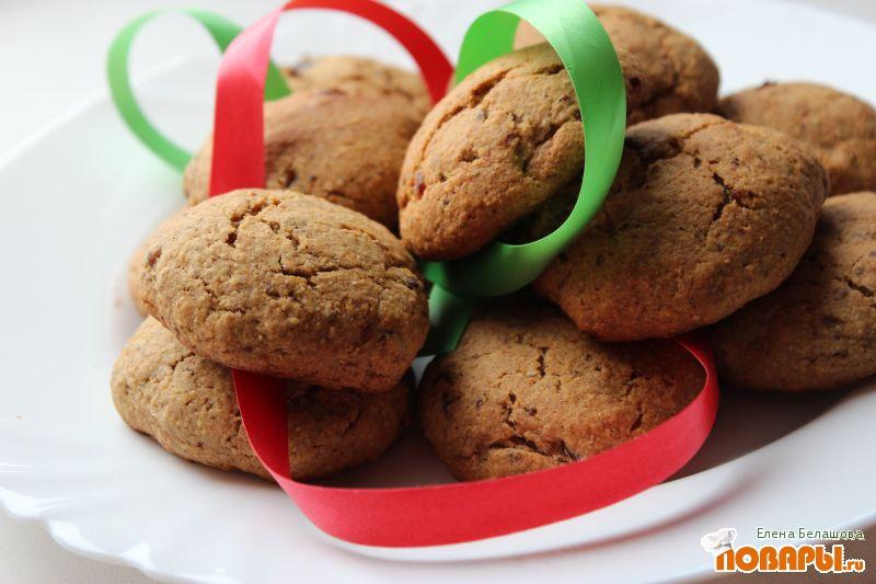 Рецепт Печенье финиковое (без сахара)