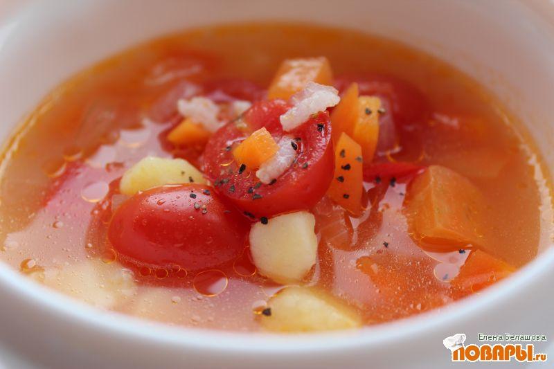 Суп харчо с помидорами с пошагово