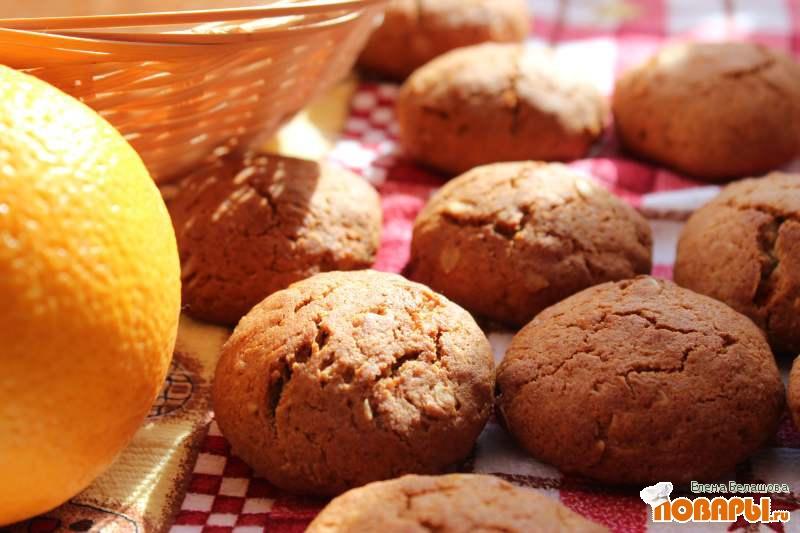 Рецепт Медовое печенье из ржаной муки