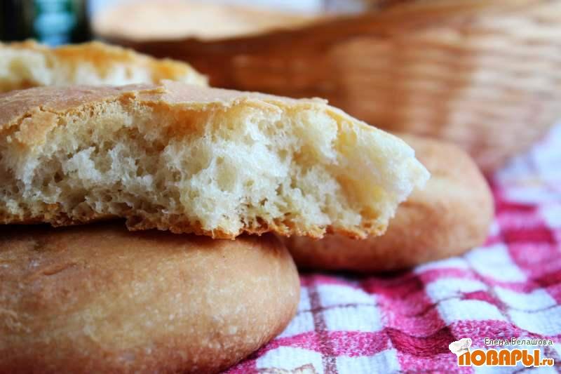 Рецепт Чиабата в хлебопечке (Moulinex Homebread)