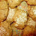 Печенье сладкое постное овсяное без сахара