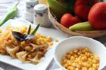 Паста с кукурузой