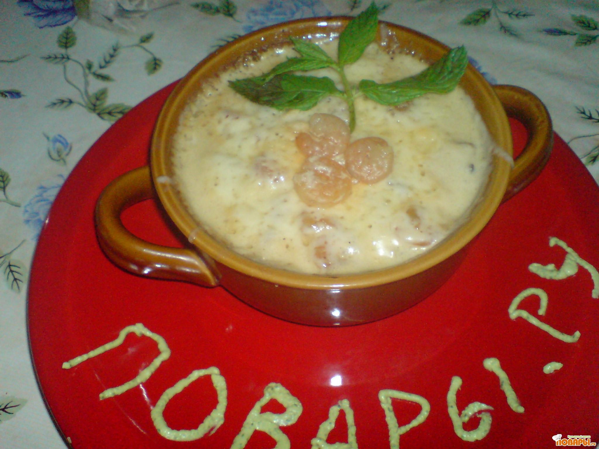 Рецепт Жульен с креветками.