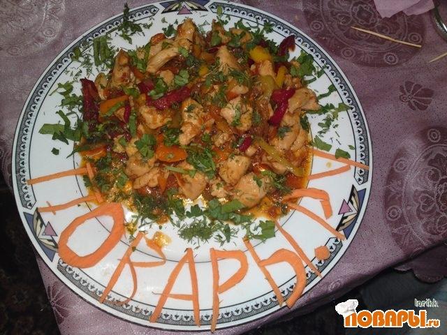 Рецепт Куриные грудки по-китайски.
