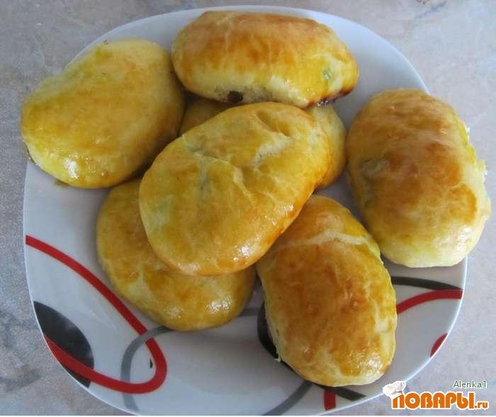 Рецепт Пирожки с ревенем