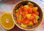 Тыква с апельсином и корицей