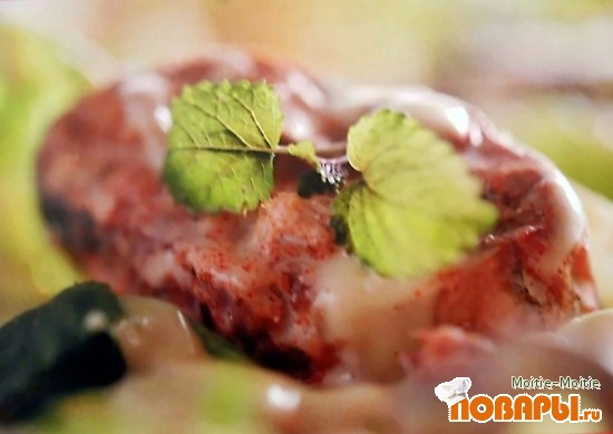 Рецепт Римский салат со скумбрией