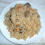 Говядина тушеная с рисом