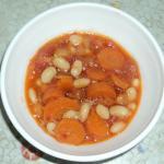 Фасоль тушеная в томатном соусе