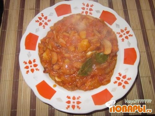 Рецепт Овощное рагу с фасолью